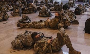 Pregătiri ca de război la Capitoliul Statelor Unite